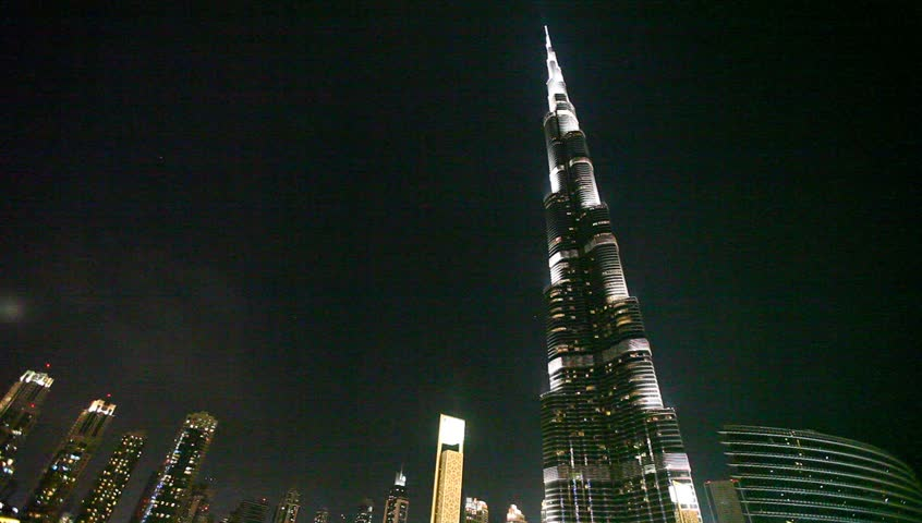 DUBAI, UAE. - MARCH 25 : Burj Dubai - tallest building in the world, at 828m. on March 25,2013 in Dubai, UAE.