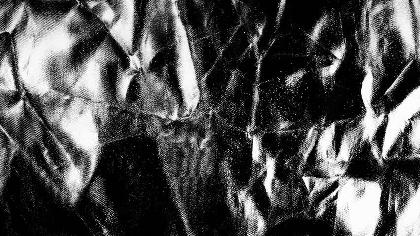 Water on Metallic Curtain | Shutterstock HD Video #3874397