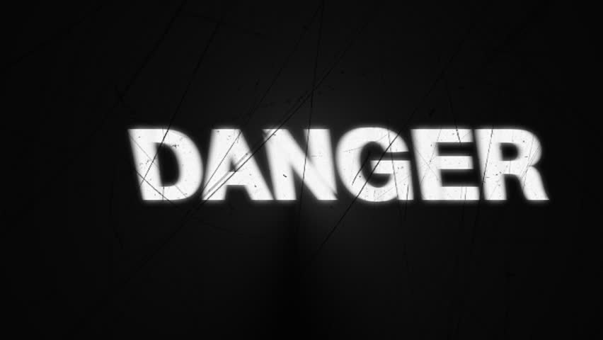 Warnings with Film Scratches | Shutterstock HD Video #3888899