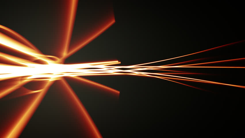 Abstract strokes with glows over black background   Shutterstock HD Video #3895319