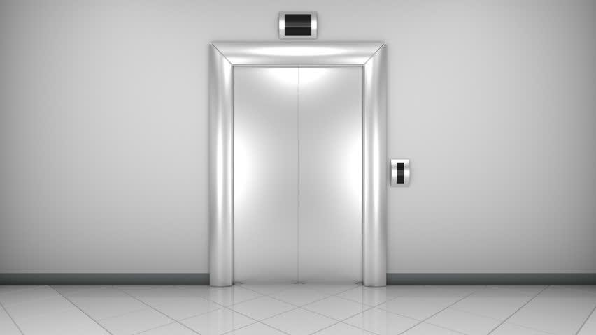 modern elevator doors. opening doors in modern elevator - hd stock video clip shutterstock
