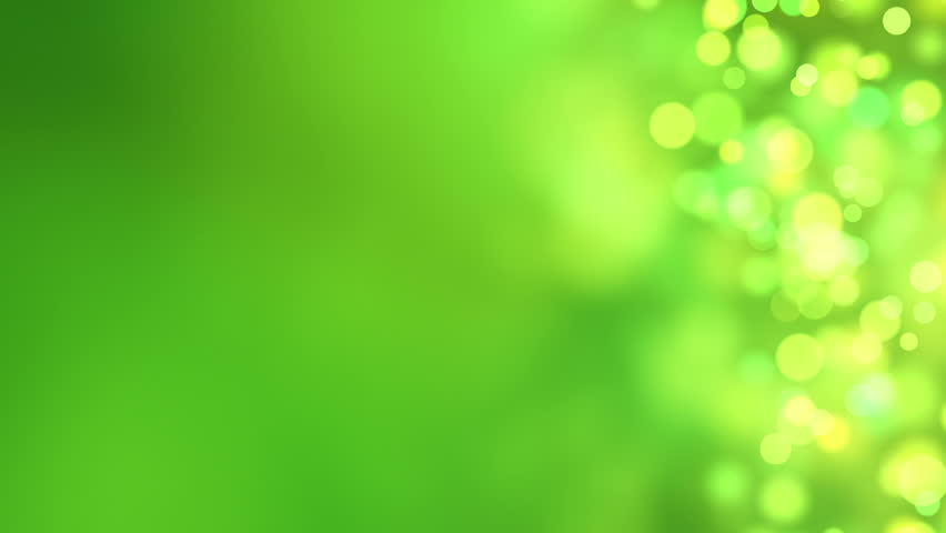 Loopable Abstract Background Green Bokeh Circles Stock Footage