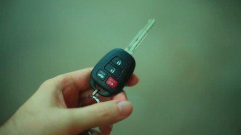 locking and unlocking car key remote