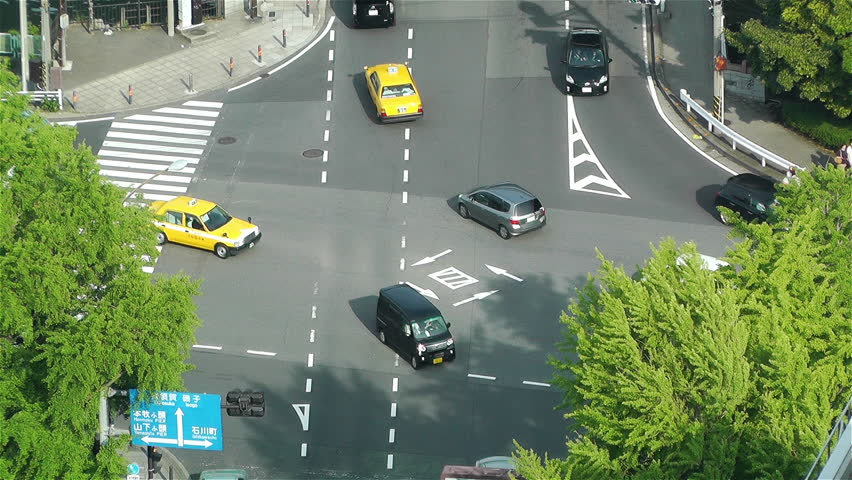 YOKOHAMA JAPAN - MAY 9 : Yokohama Street Aerial Japan in 2012 | Shutterstock HD Video #3977779