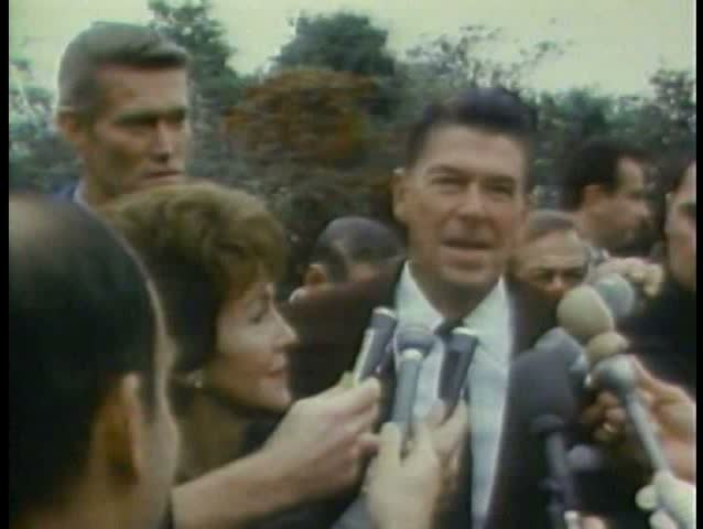 1980s - Ronald Reagan wins the governor's race in California.