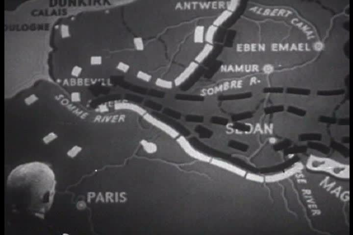 Map Of France Holland And Germany.1940s Depicts The German Stock Footage Video 100 Royalty Free 4018729 Shutterstock