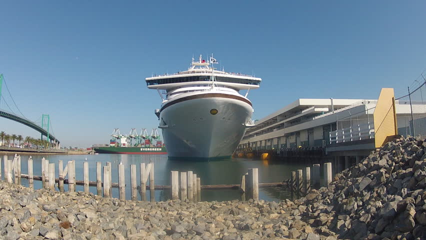 Los Angeles Cruise Terminal Stock Footage Video Shutterstock - Los angeles cruise ship terminal