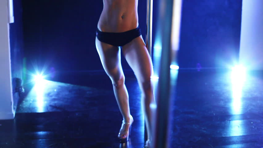 Pole dance woman.