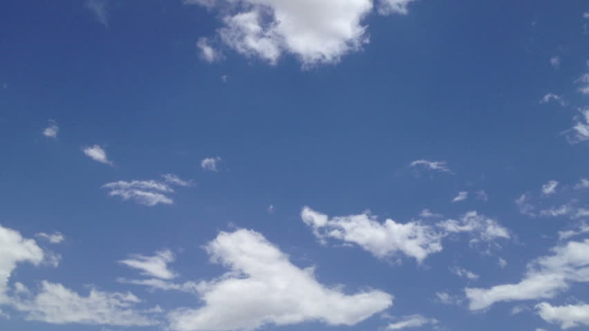 Slow-moving BLUE Sky clouds ( COLLECTINON 24 )
