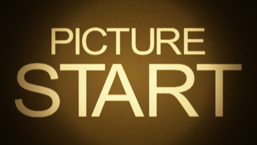 HD - Motion 890: Retro film leader countdown.