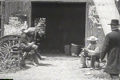 1900s - Very early footage of village life in the early 1900s.