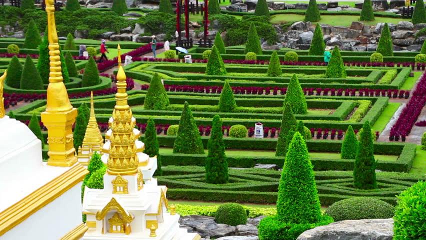 Nong Nooch tropical garden in Thailand