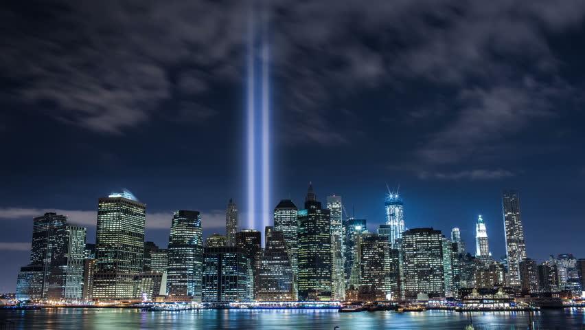 911 Lights in New York City