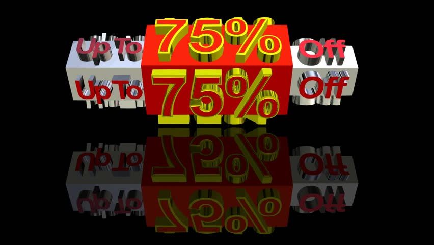 Special sale discount percentage | Shutterstock HD Video #4133929