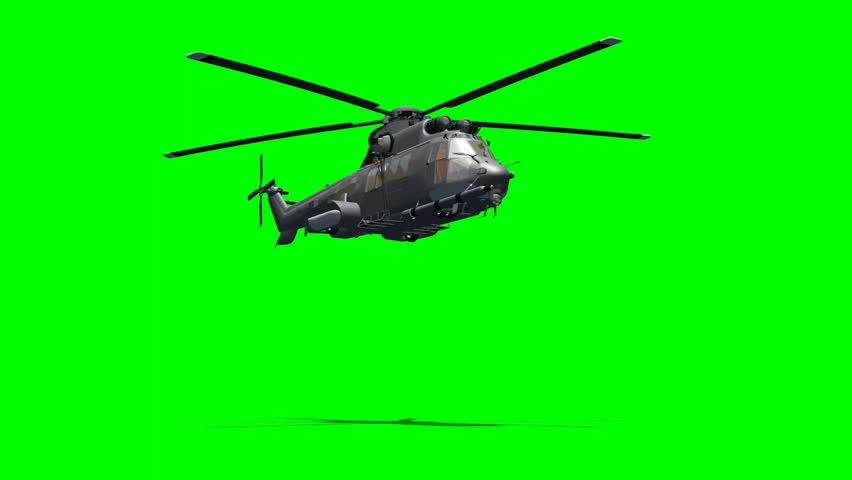 Euro Copter Helicopter in Fly Stock Footage Video (100% Royalty-free)  4156099 | Shutterstock