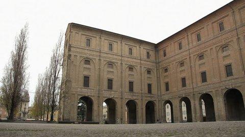 Palazzo della Pilotta (Parma, IT). Find similar clips in our portfolio.