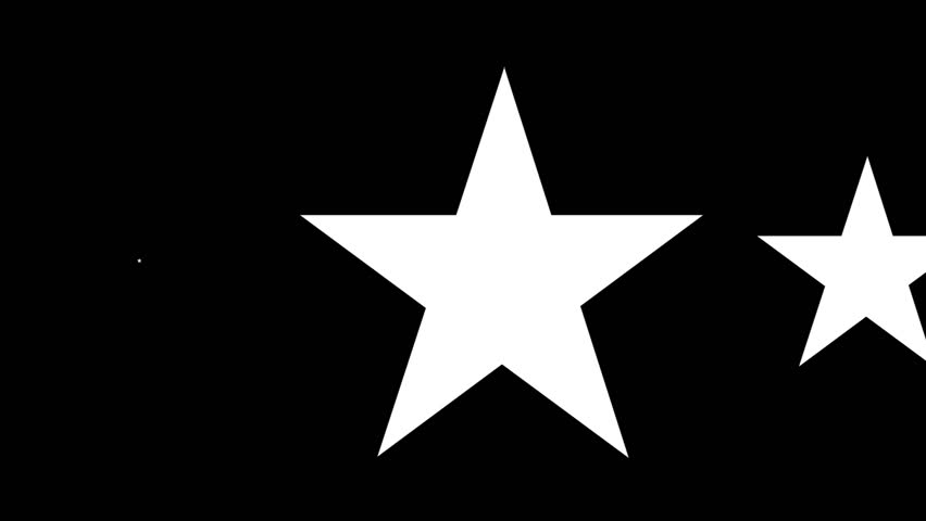Group Of White Star Transparent Background