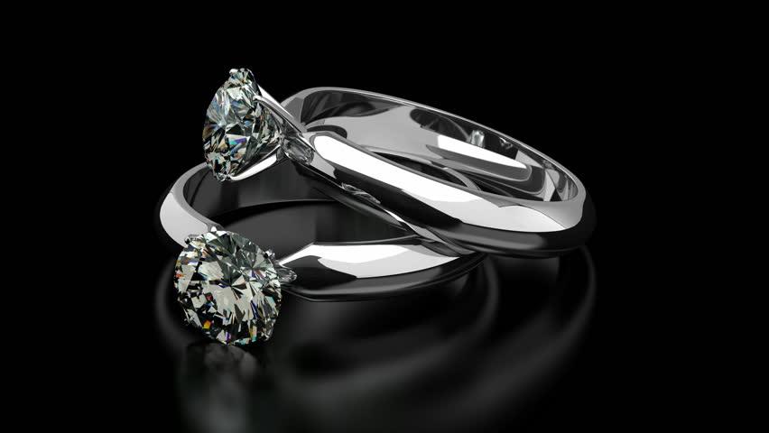 Diamond Rings Stockvideos Filmmaterial 100 Lizenzfrei 4194139