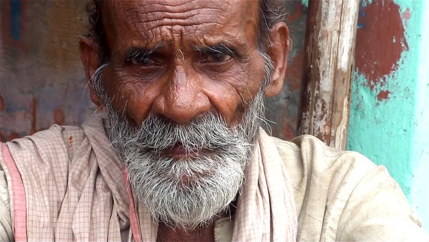 Indian Old Man Stock Video Footage - 4K And Hd Video Clips -1054