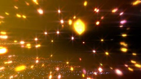 Colorful Stars, Glitter, Comets.