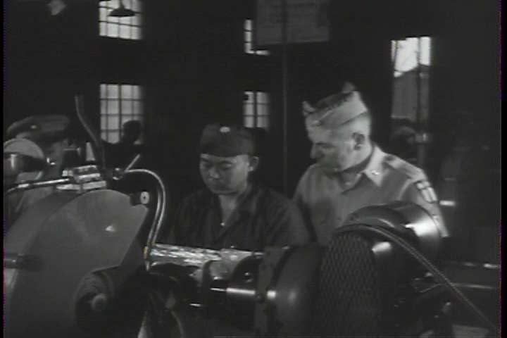 1950s - The U.S. army trains and arms Taiwanese Nationalists in the 1950s. - SD