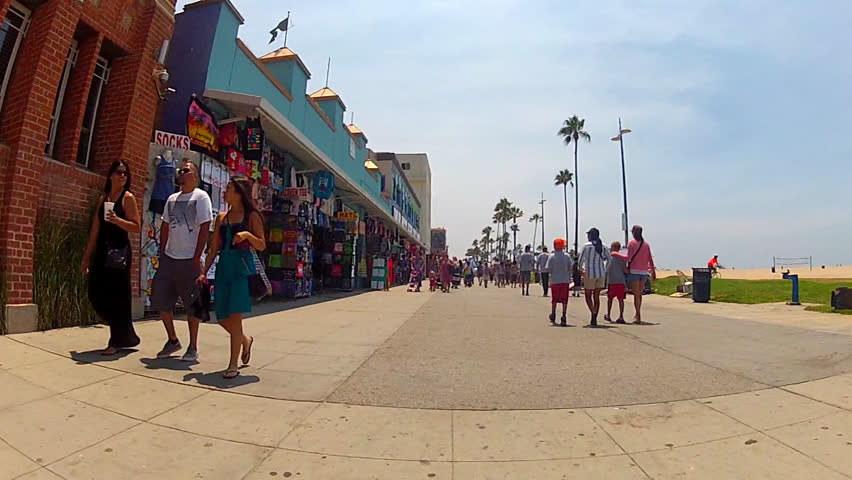Venice Beach Causa July 18 Stock Footage Video 100 Royalty Free 4366829 Shutterstock