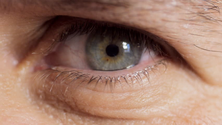 Stock Video Of Mans Eye, Close Up  4373489  Shutterstock-8524