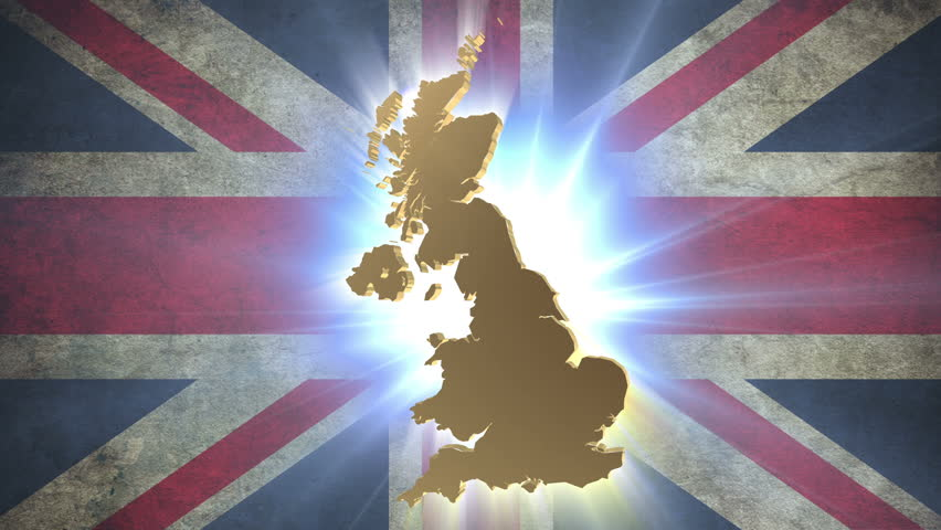 Map Of Uk Hd.United Kingdom Uk Map With Stock Footage Video 100 Royalty Free 4422089 Shutterstock