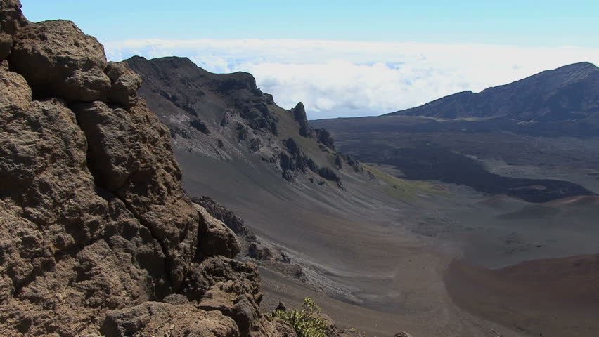 Maui haleakala crater stock footage video 4458005 shutterstock publicscrutiny Image collections