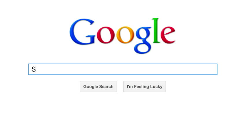 Google - the most popular search engine in the world. Google processed more than 1.2 trillion search queries in 2012. | Shutterstock HD Video #4459586