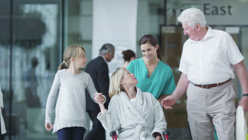 Assisting people when life throws unexpected obstacles in your way. A hospital ward or waiting area where patients can by seen by doctors and nursing staff. | Shutterstock HD Video #4503509