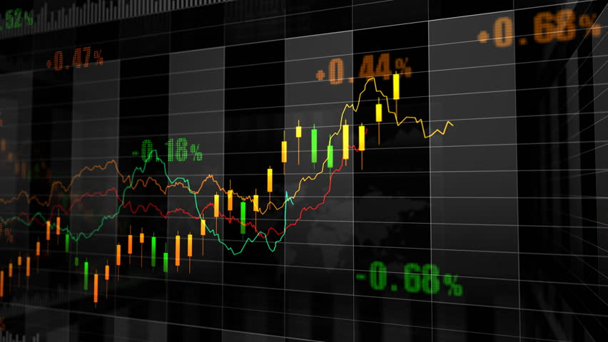 Stock market trend of animation. | Shutterstock HD Video #4505588