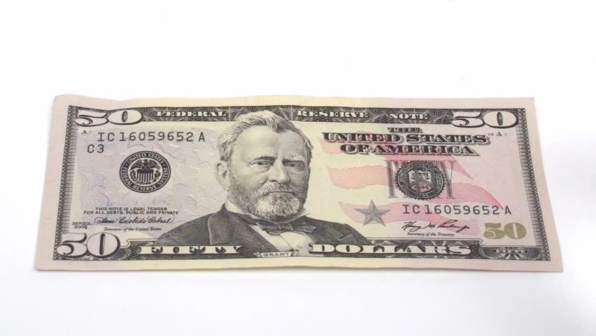 Magnifying 50 Dollar Bill - Stock Footage Video (100% Royalty-free) 452959    Shutterstock