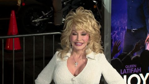 HOLLYWOOD - January 9, 2012: Dolly Parton at the Joyful Noise Premiere in the Grauman's Chinese Theatre in Hollywood January 9, 2012