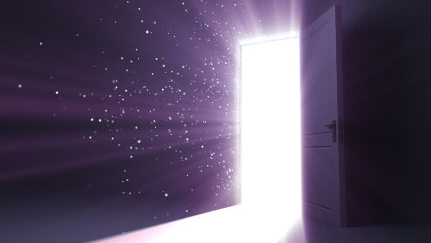 Door Opening To A Heaven Light. Flares Flying. HD 1080. Stock Footage Video 4549049 | Shutterstock & Door Opening To A Heaven Light. Flares Flying. HD 1080. Stock ... Pezcame.Com