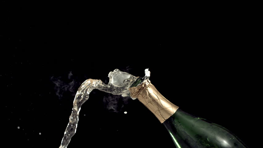 New Year's Champagne, Slow Motion | Shutterstock HD Video #4553306