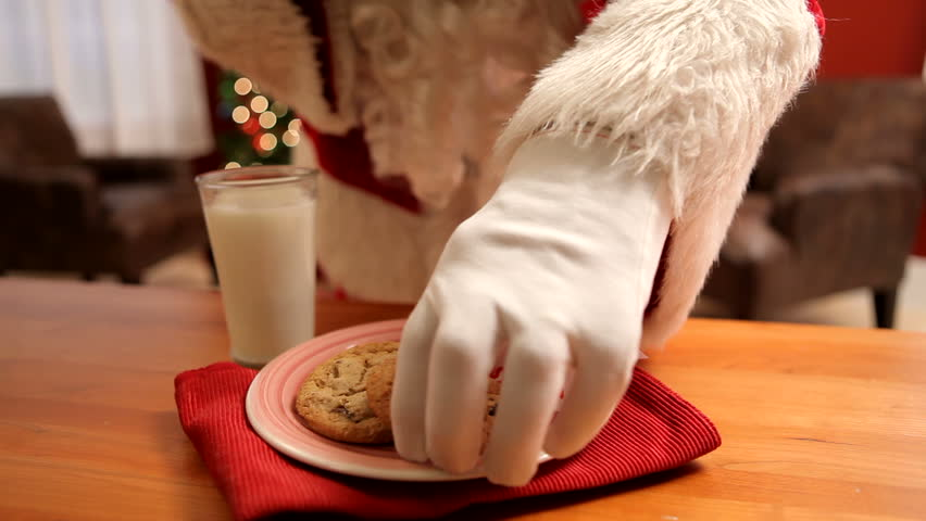 Milk And Cookies For Santa Stock Footage Video 100 Royalty Free 4562039 Shutterstock