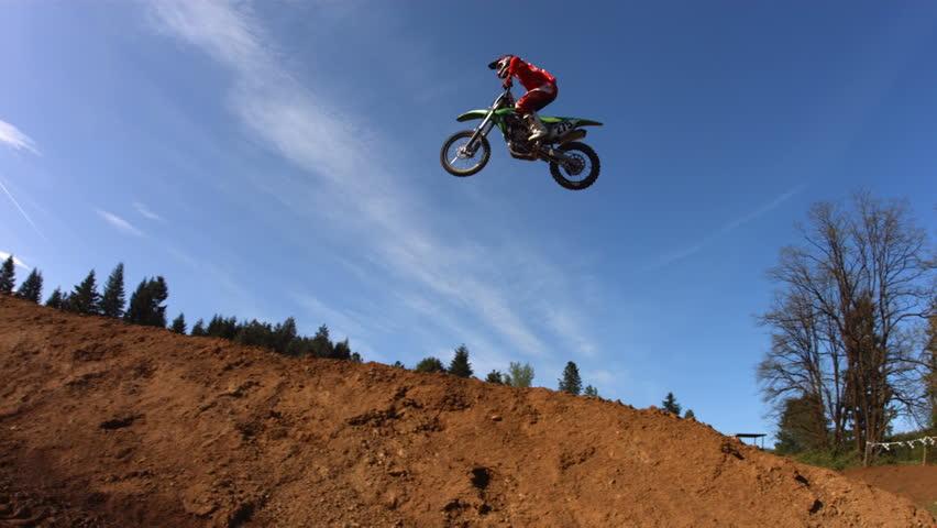Motocross dirt jumps