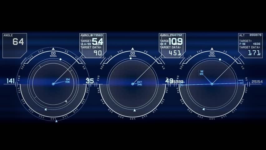 Sci Fi Computer Interface A High-tech Sci-fi Dis...