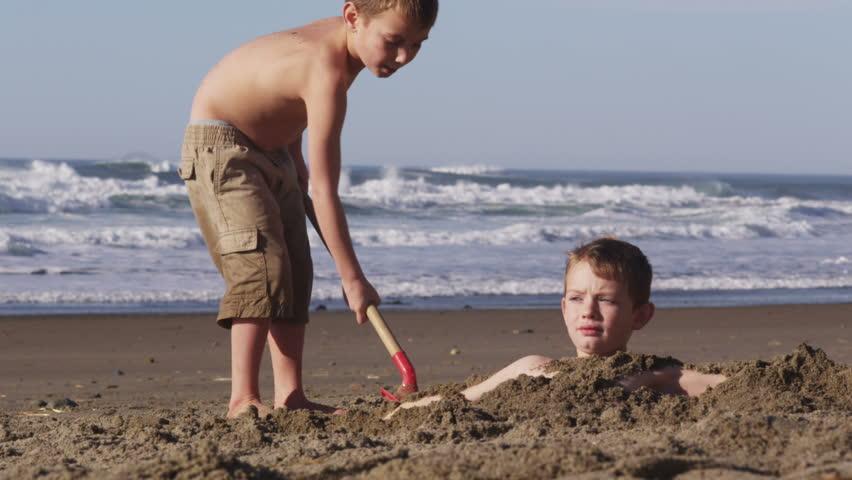 Boys Naked In Beach