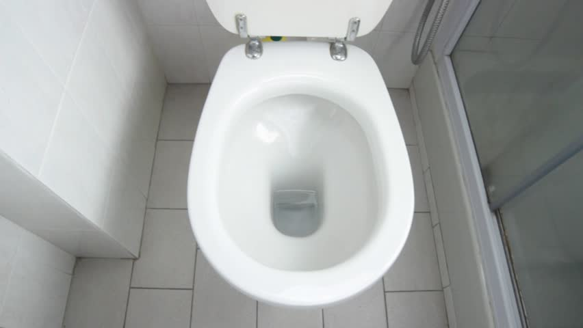 how to clear a slow flushing toilet