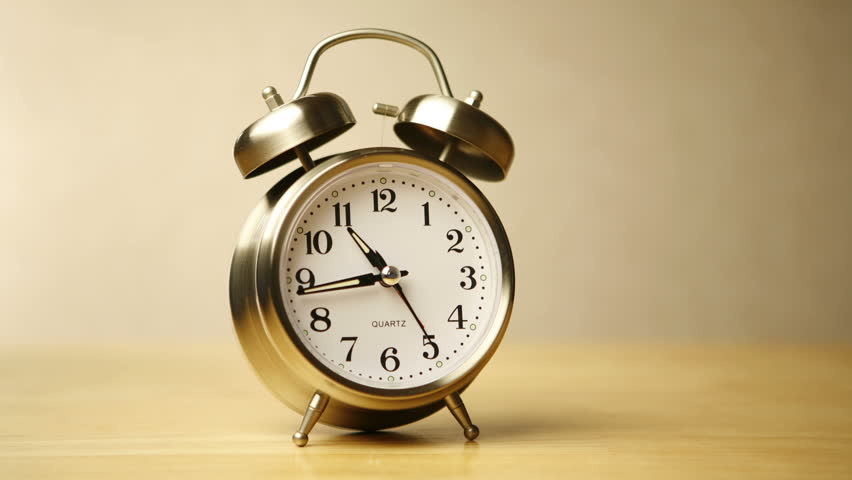 Timelapse Shot Of A Clock