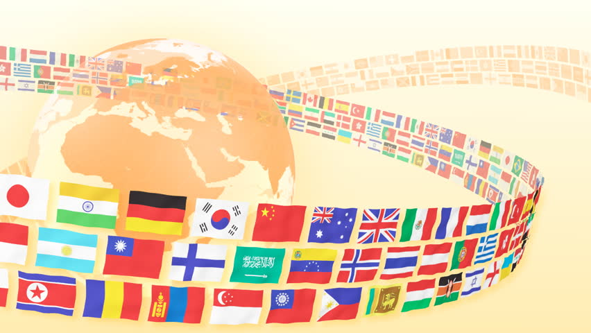 National flag and world map stock footage video 474046 shutterstock flags world earth hd stock video clip gumiabroncs Images