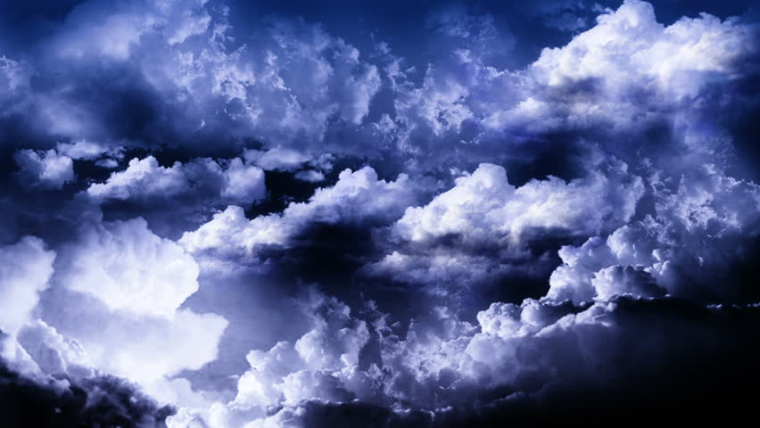 Storm with Lightnings in Sky   Shutterstock HD Video #4775279