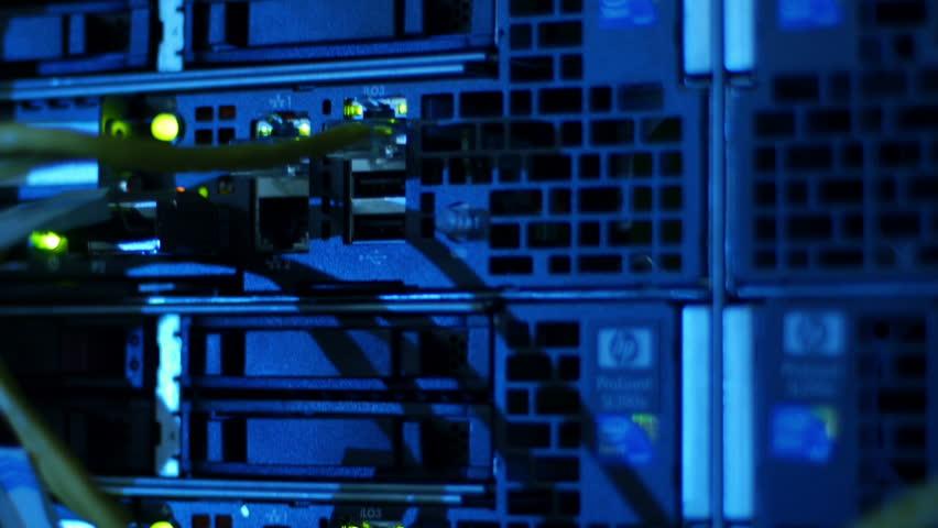 Scientific data center Network connections | Shutterstock HD Video #4790114