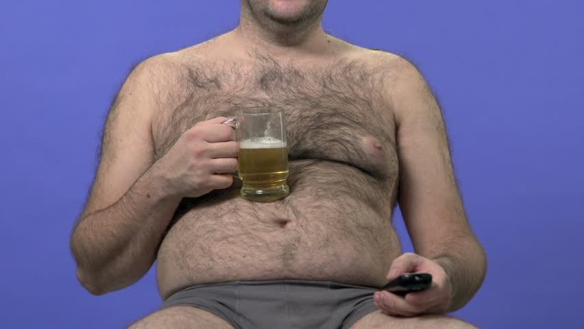 Hairy man video