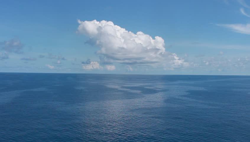 Beautiful  Sea, Clouds and Blue Sky