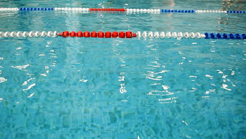 Olympic Swimming Pool Lanes