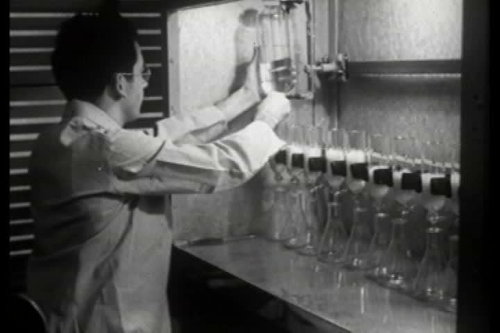 1940s - Technology has made great strides in 1940 America and it's all due to chemistry. | Shutterstock HD Video #4846619