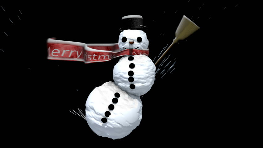 Snowman | Shutterstock HD Video #486319
